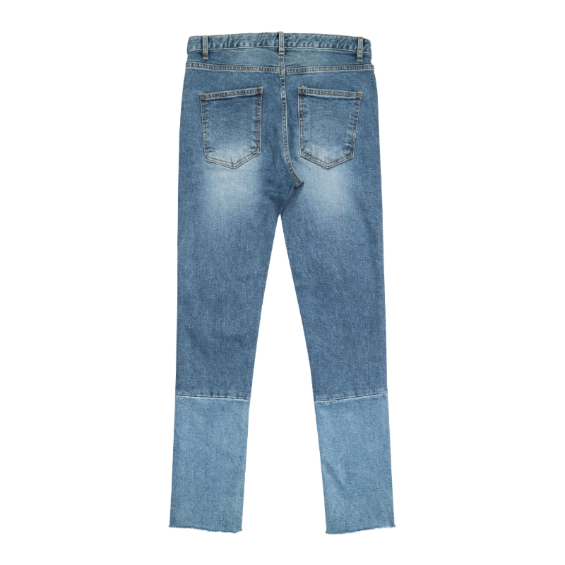 [DEADEND] DIVIDED CROPPED JEANS