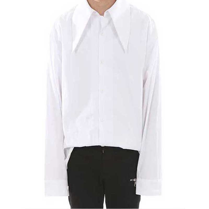 [LANG VERSIO] 127 HEAVY COLLAR SHIRT (WHITE)
