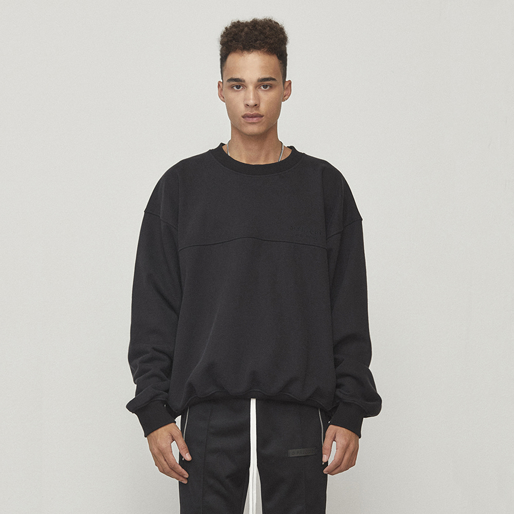 OVERSIZED SWEATSHIRT (BLACK)