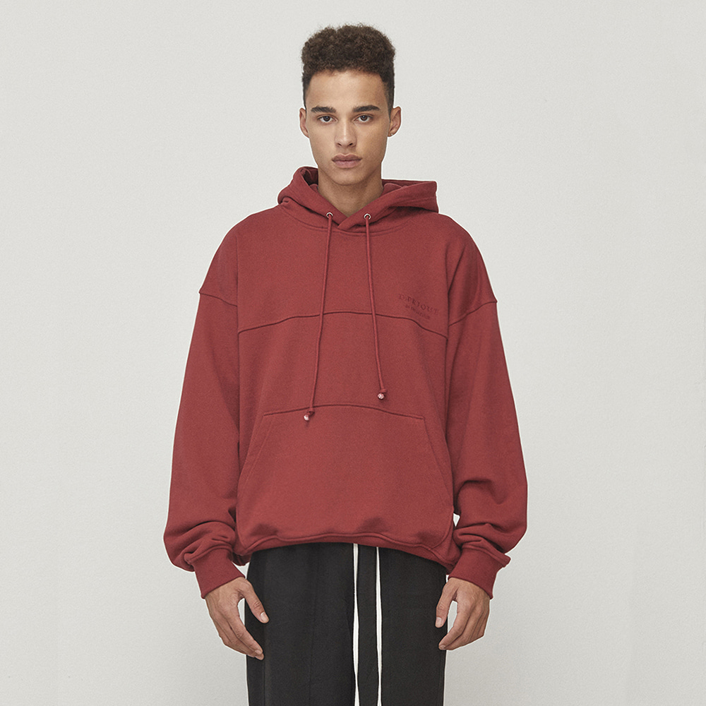 OVERSIZED HOODIE (RED)