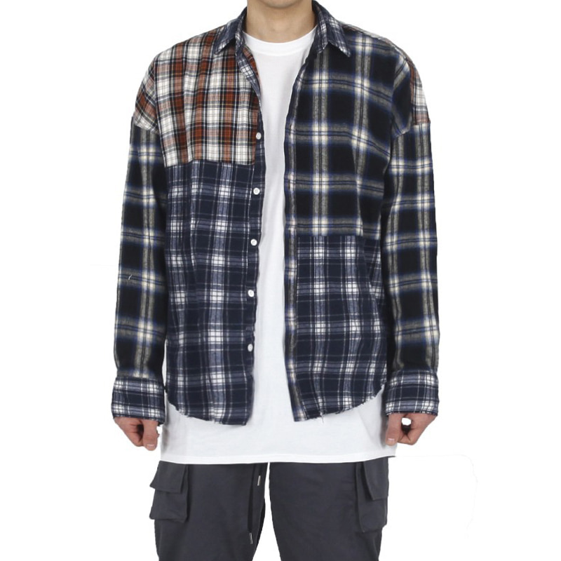 MIX CHECK SHIRT (MULTI)