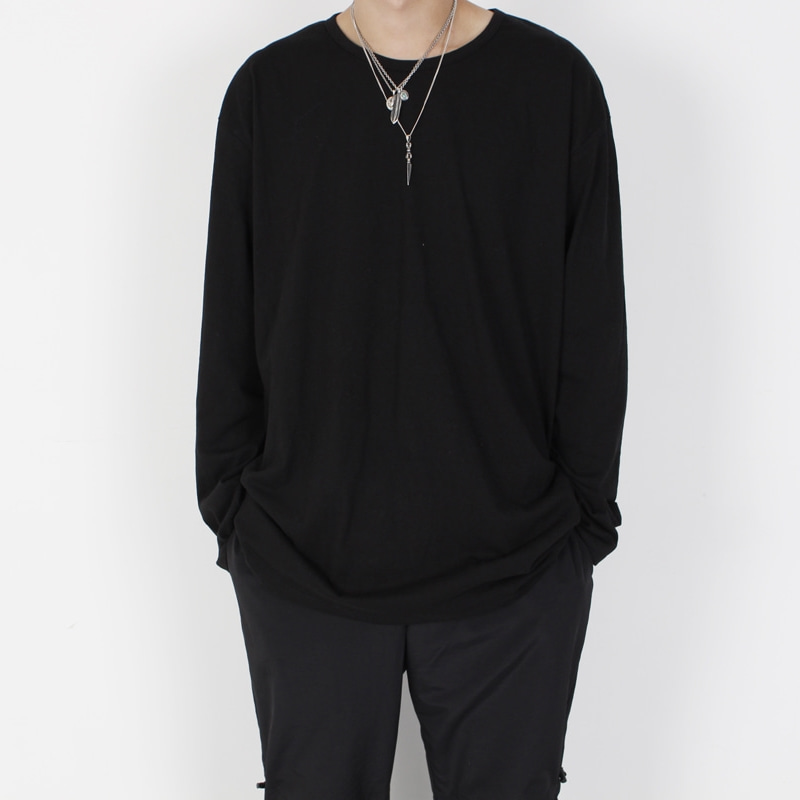 [BURJ SURTR] LONG SLEEVE BLACK