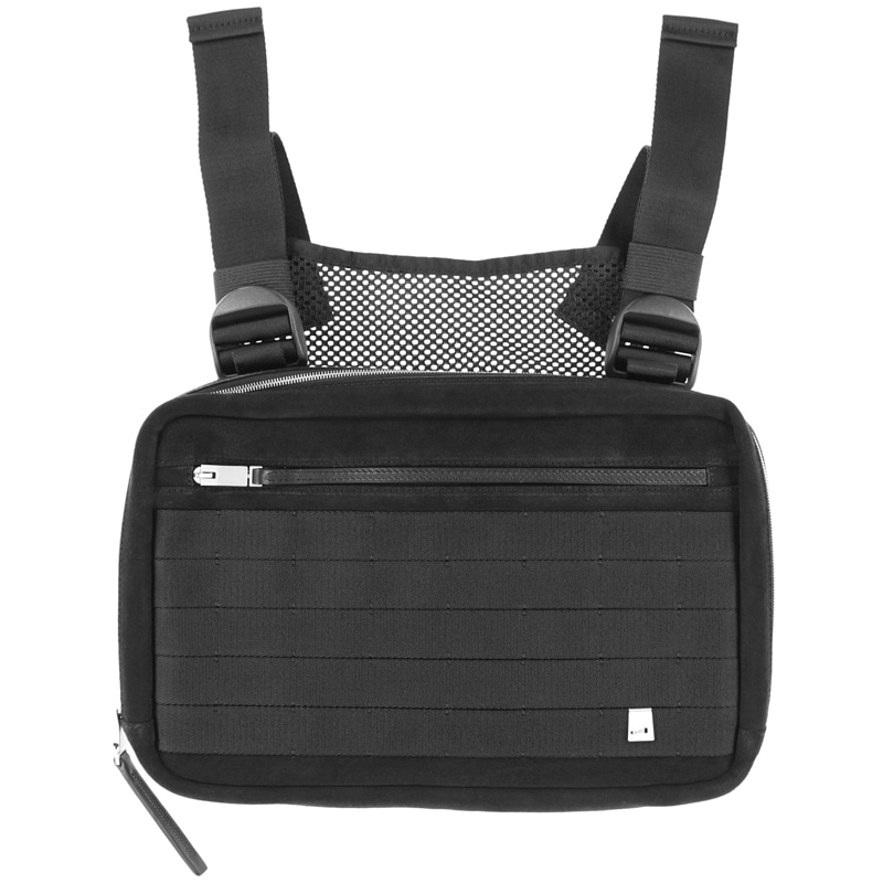LEATHER CHEST RIG (BLACK)