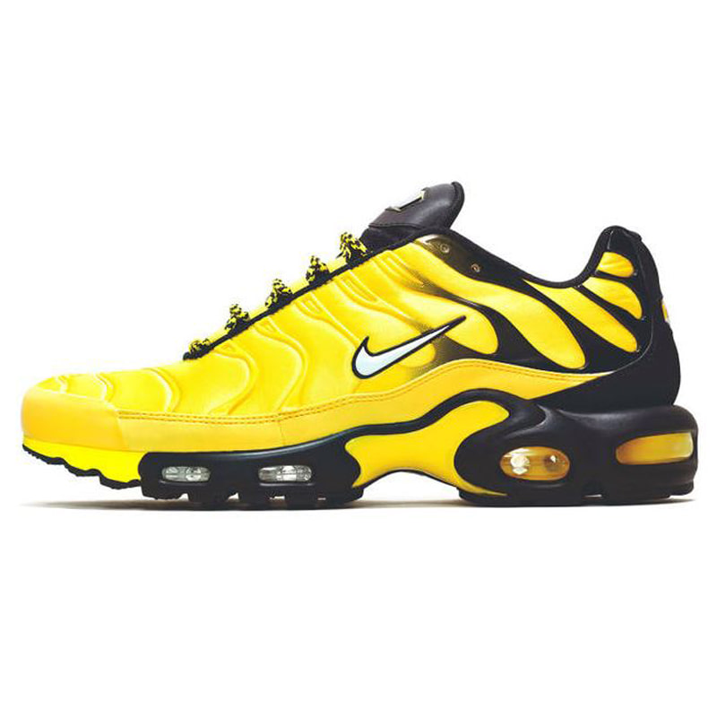 "PLAY BOI CARTI X FOOT LOCKER AIR MAX ""FREQUENCY"" (BLACK/YELLOW)"