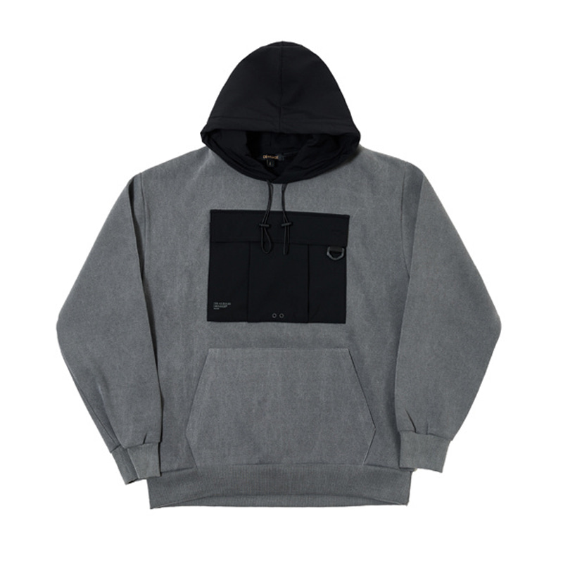 UTILITY WASHING HOODIES (GRAY)