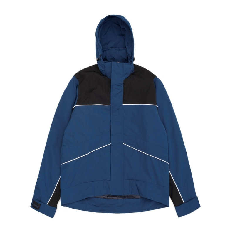 SKI JACKET BLUE / BLACK