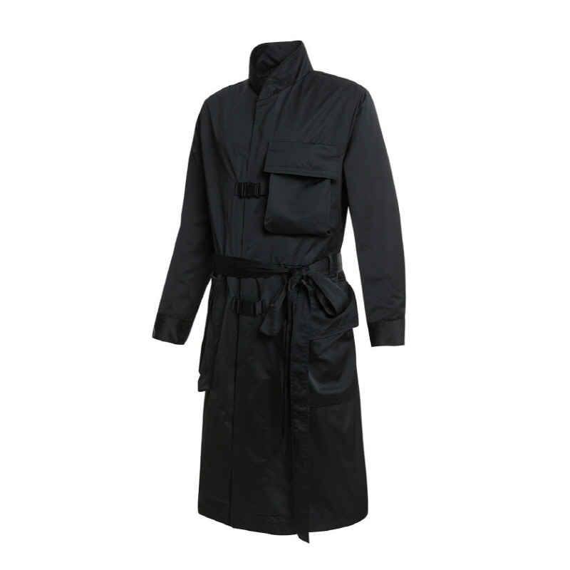 ADLV BACK LOGO COAT BLACK