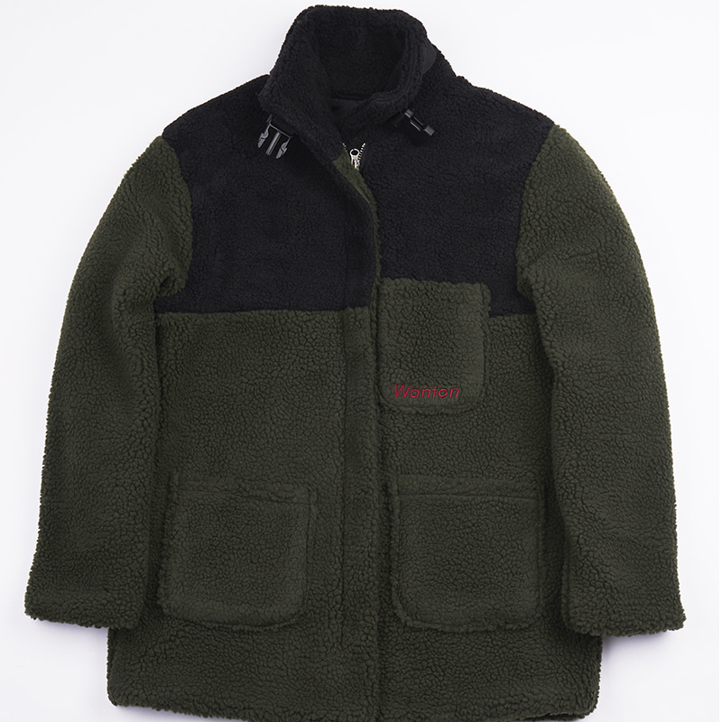 BUCKLE HEAVY FLEECE KHAKI