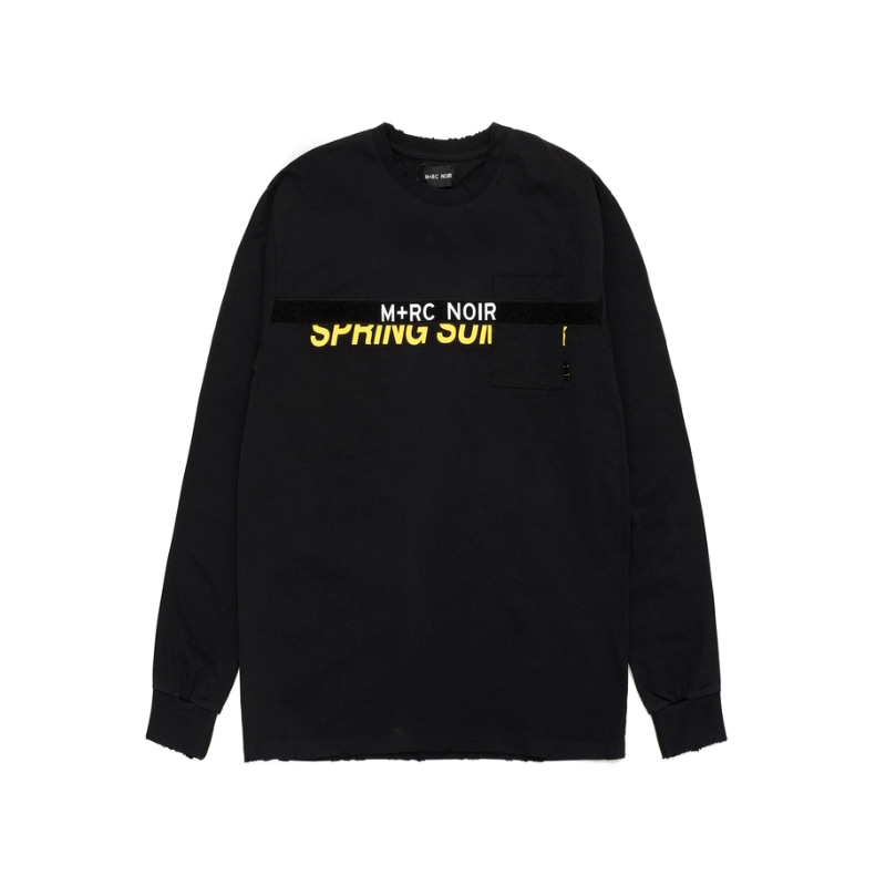 VELCRO LS T-SHIRT BLACK