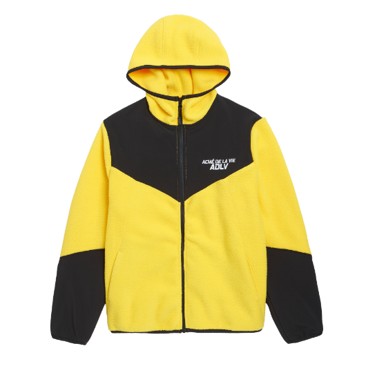 ADLV FLEECE JACKET YELLOW