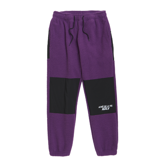 ADLV FLEECE PANTS PURPLE