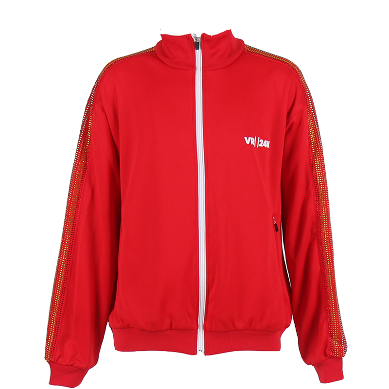 VR24K LOGO TRACK JACKET (RED)