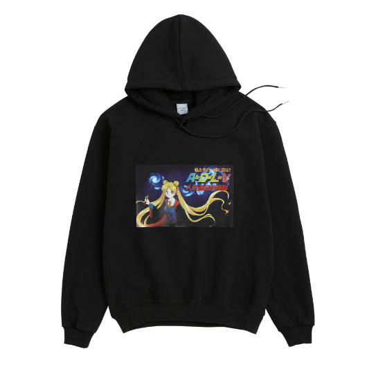 ADLV CARTOON HOODIE MAGIC GIRL