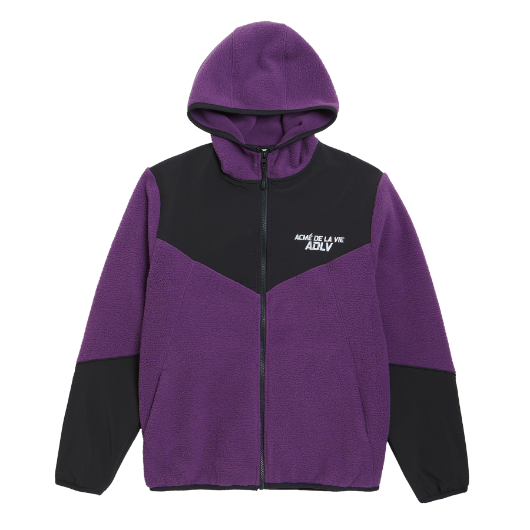 ADLV FLEECE JACKET PURPLE