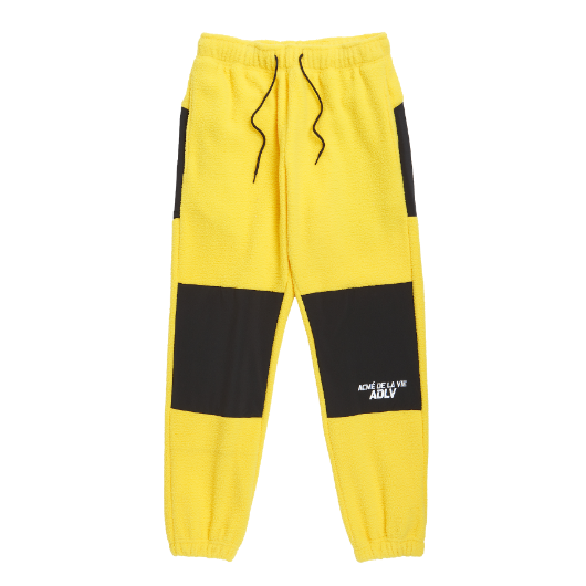 ADLV FLEECE PANTS YELLOW