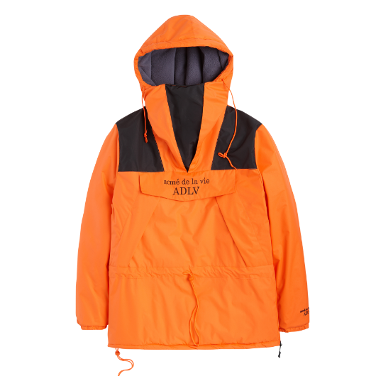 ADLV REFLECTOR ANORAK PADDING ORANGE