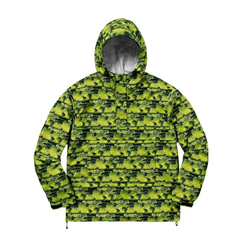 WORLD FAMOUS TAPED SEAM PULL OVER GREEN