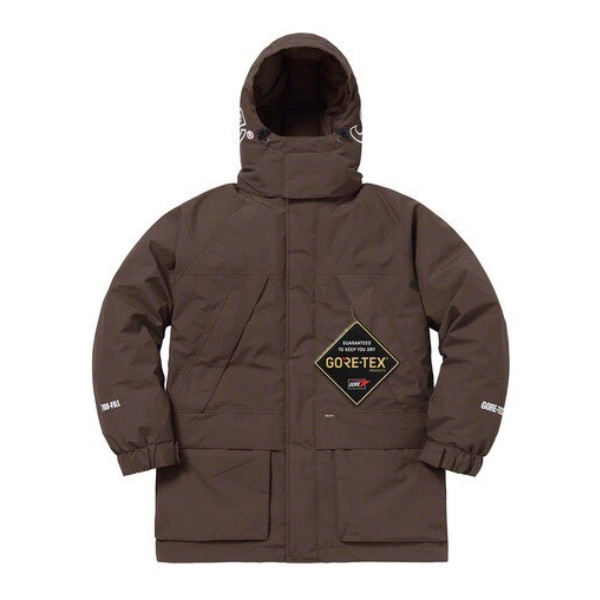 GORE-TEX 700 FILL DOWN PARKA BROWN