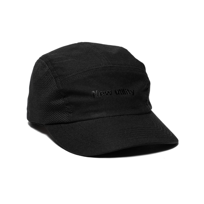 DUAL FABRIC CAP BLACK