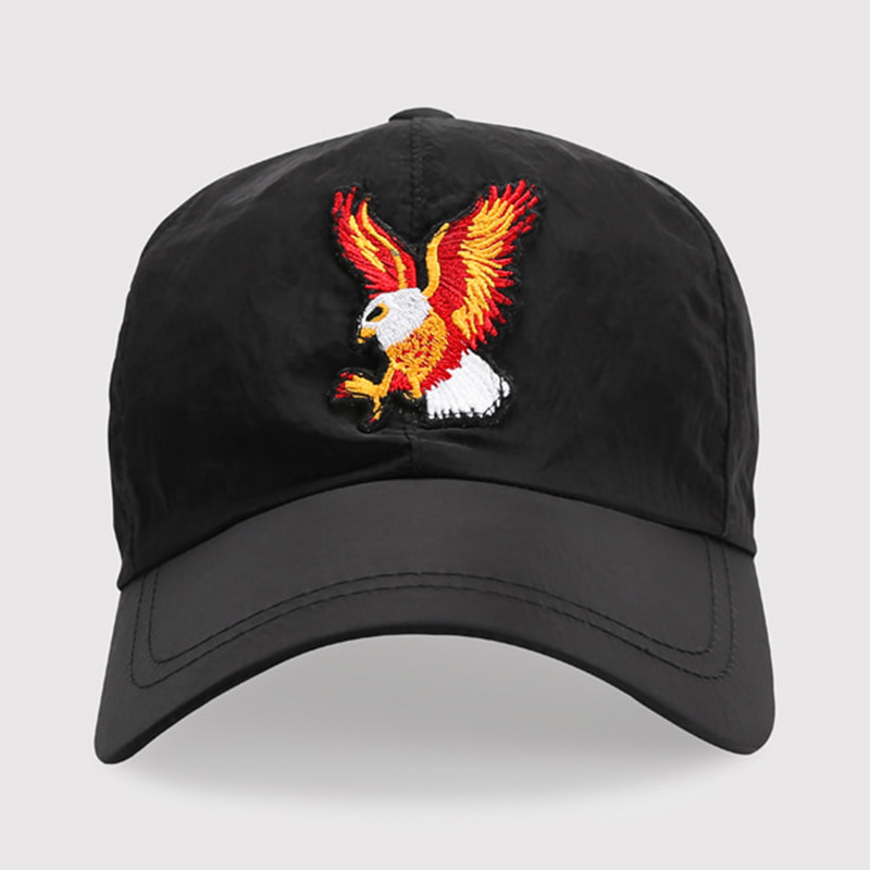 EAGLE NYLON BALL CAP (BLACK)