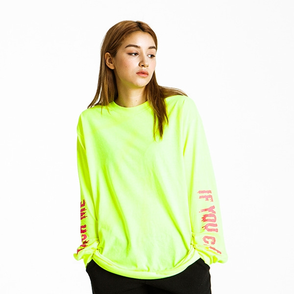 KITSCH ME IF YOU CAN NEON LONG SLEEVE