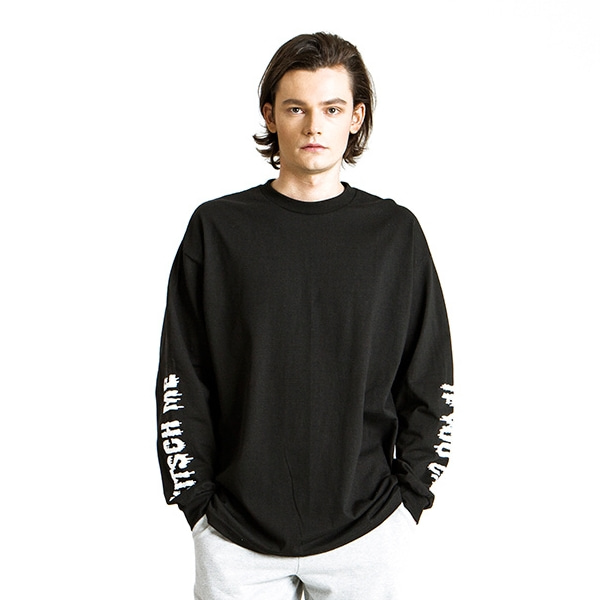 KITSCH ME IF YOU CAN BLACK/WHITE LONG SLEEVE