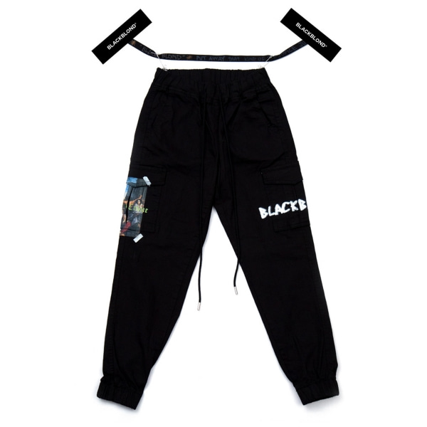 BBD INNOCENT CARGO JOGGER PANTS BLACK