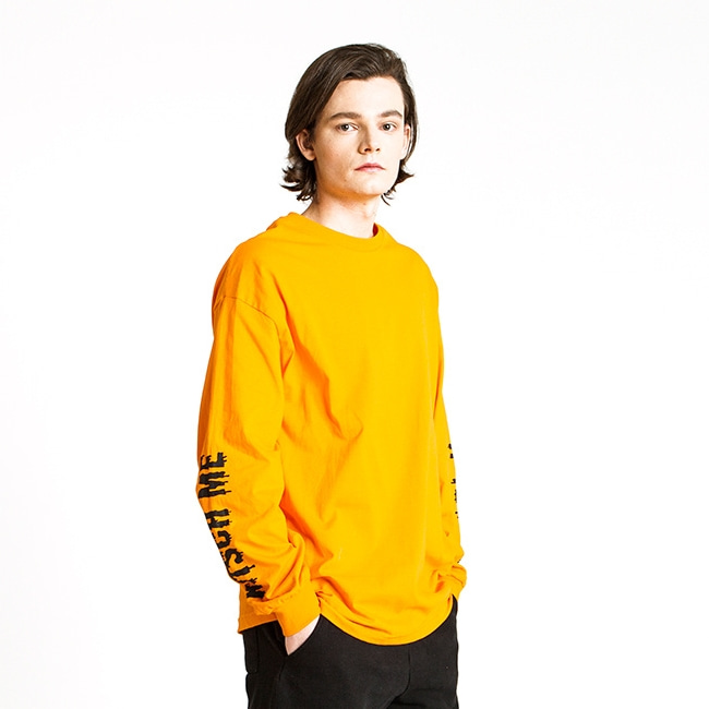 KITSCH ME IF YOU CAN ORANGE LONG SLEEVE