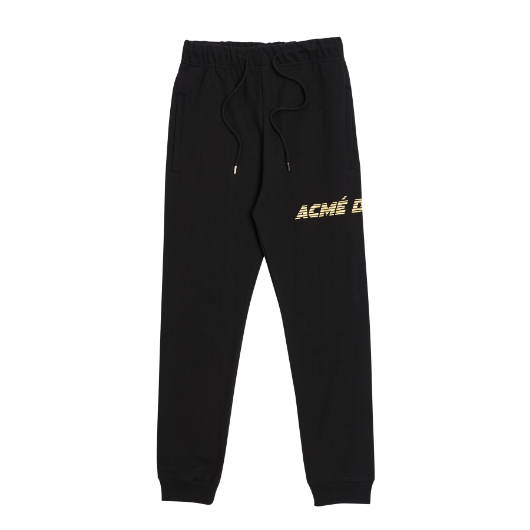 ADLV LOGO SWEATPANTS BLACK