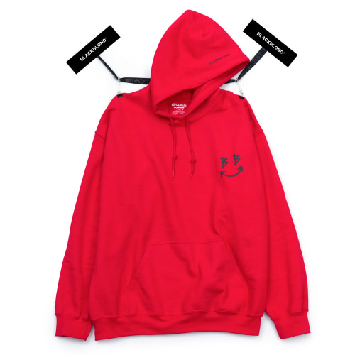 BBD REFLECTIVE SMILE LOGO RED
