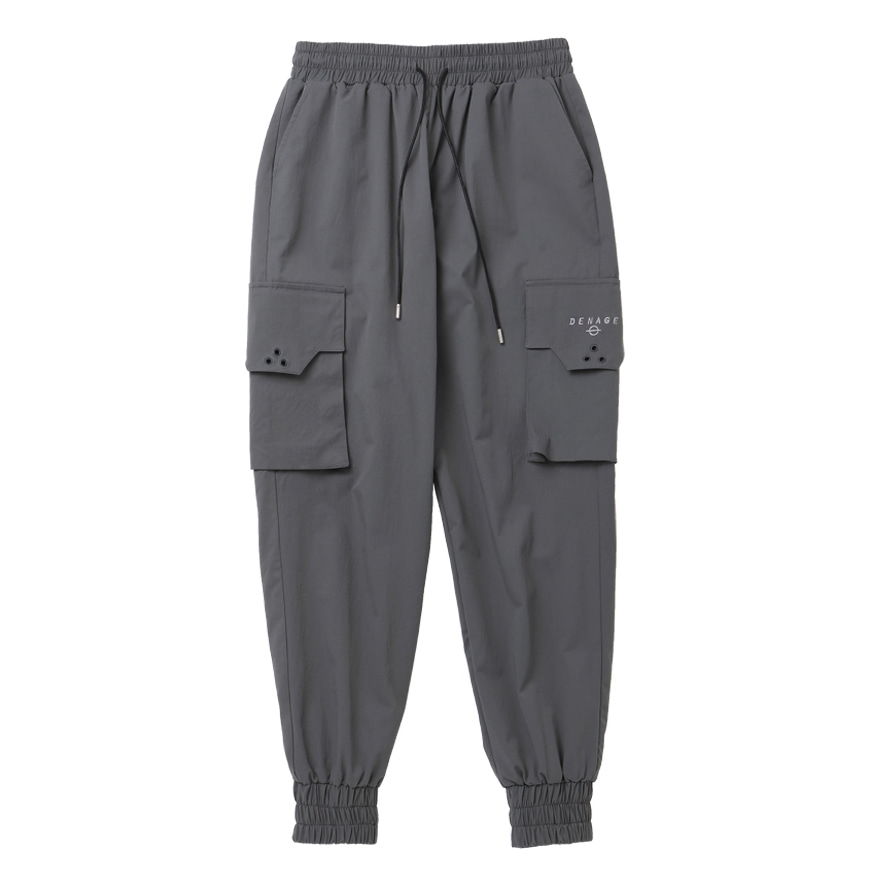 SIGNATURE CARGO JOGGER PANTS GRAY