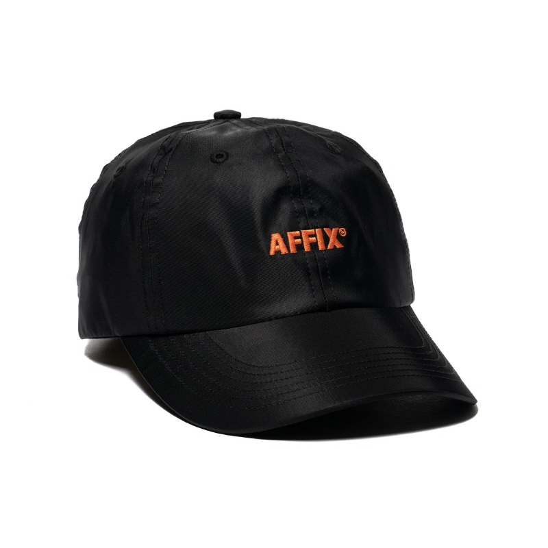 LOGO CAP BLACK / SAFETY ORANGE