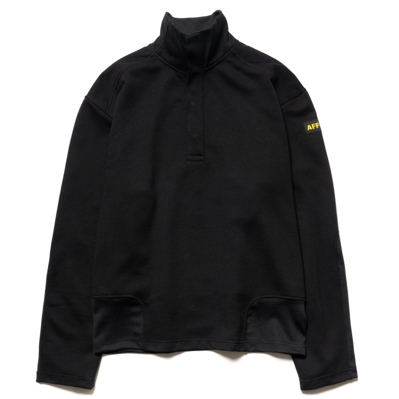 PDU PULLOVER SWEATER BLACK