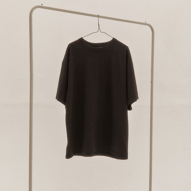 BASIC OVER T-SHIRT V2 BLACK