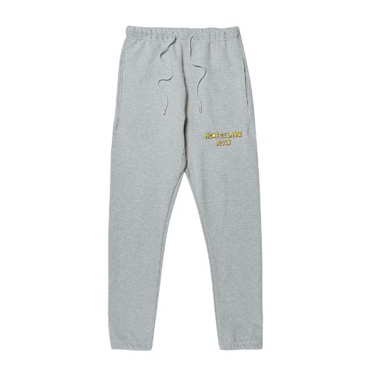 ADLV BROKEN LOGO SWEATPANTS GREY