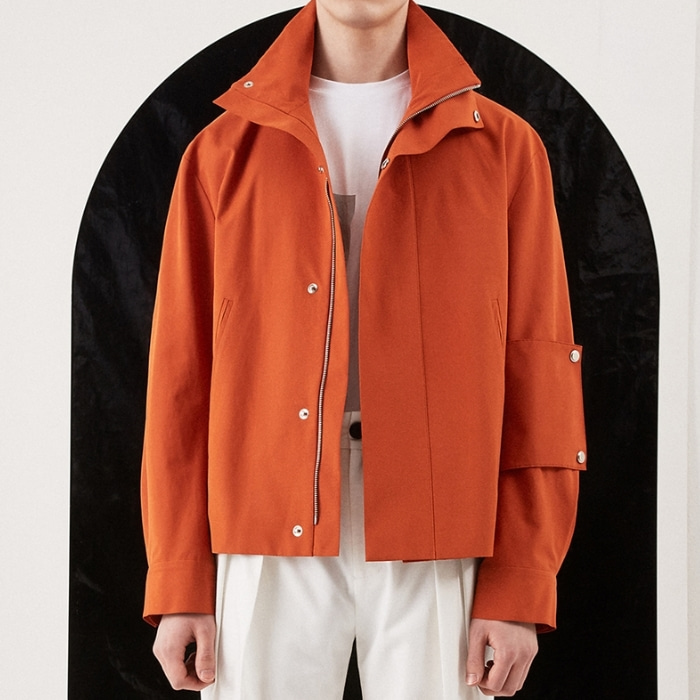 UTILITY BLOUSON ORANGE
