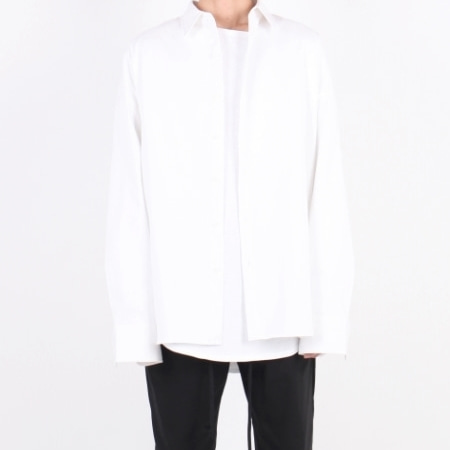 OVERFIT SHIRT WHITE