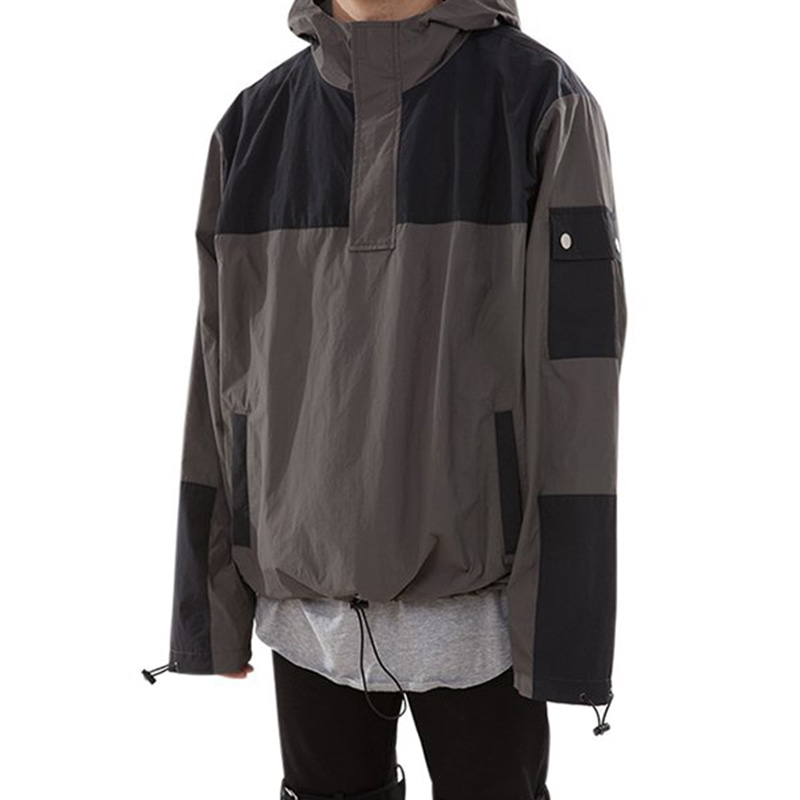151 ACHROMATIC ANORAK (CHARCOAL/BLACK)