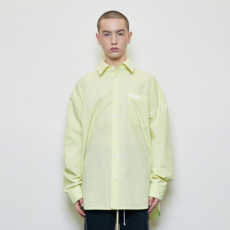 OVERSIZED SHIRT (YELLOW)
