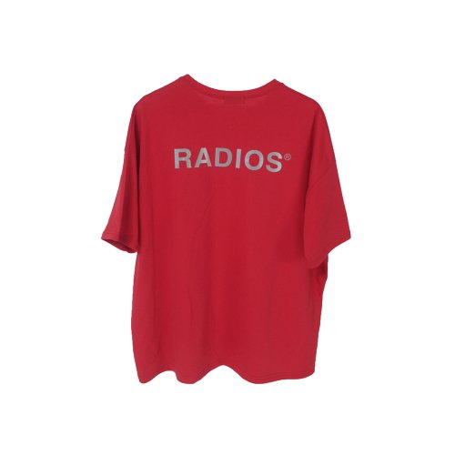 REFLECTIVE LOGO T-SHIRT TRACK.4 RED