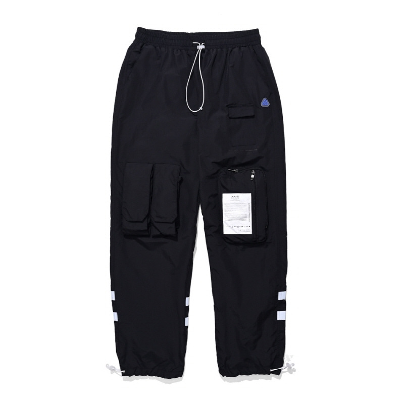 8-POCKET SMOCK PANTS BLACK