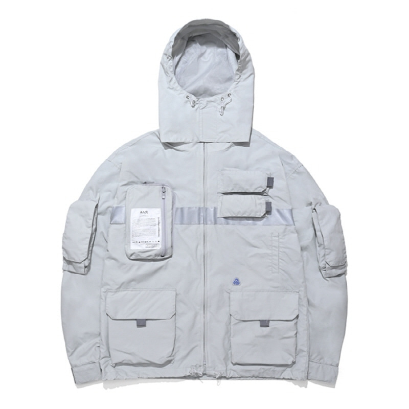 9-POCKET SMOCK JACKET GREY