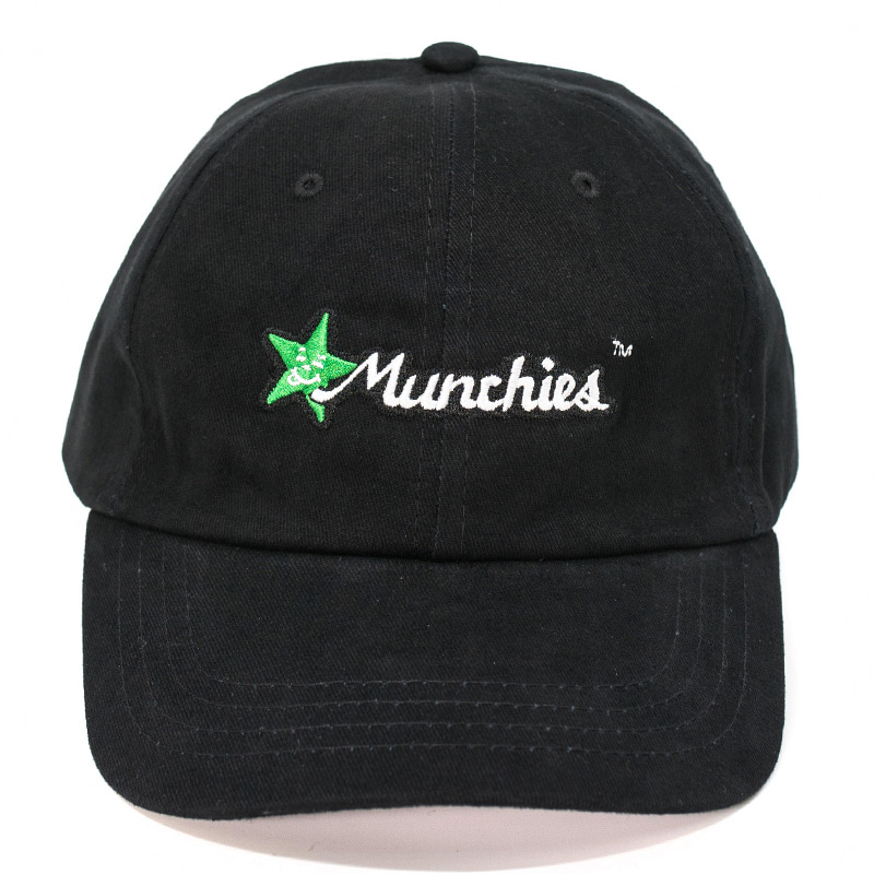 MUNCHIES CAP (BLACK/GREEN)