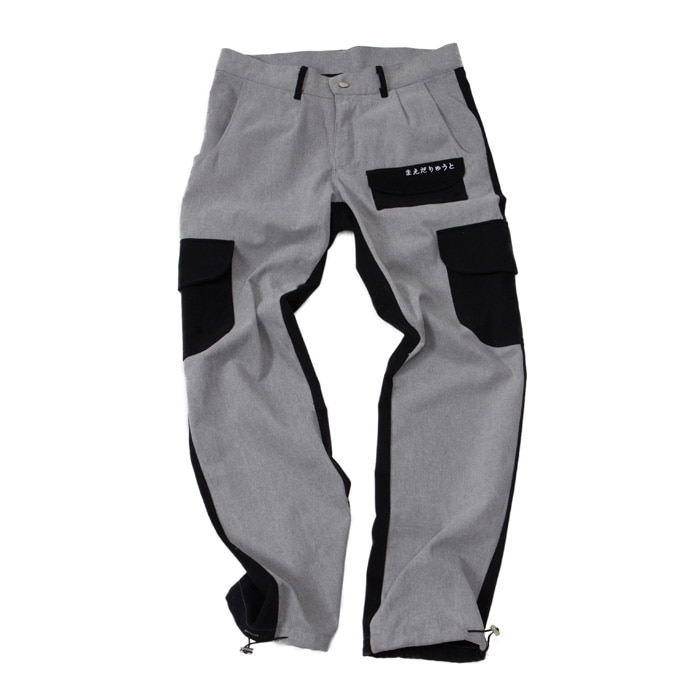PIGMENT MULTI POCKET PANTS BLACK
