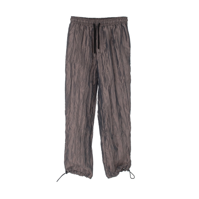 MAGIC SHOP PLEATED PANTS TRACK.2 DARK BROWN