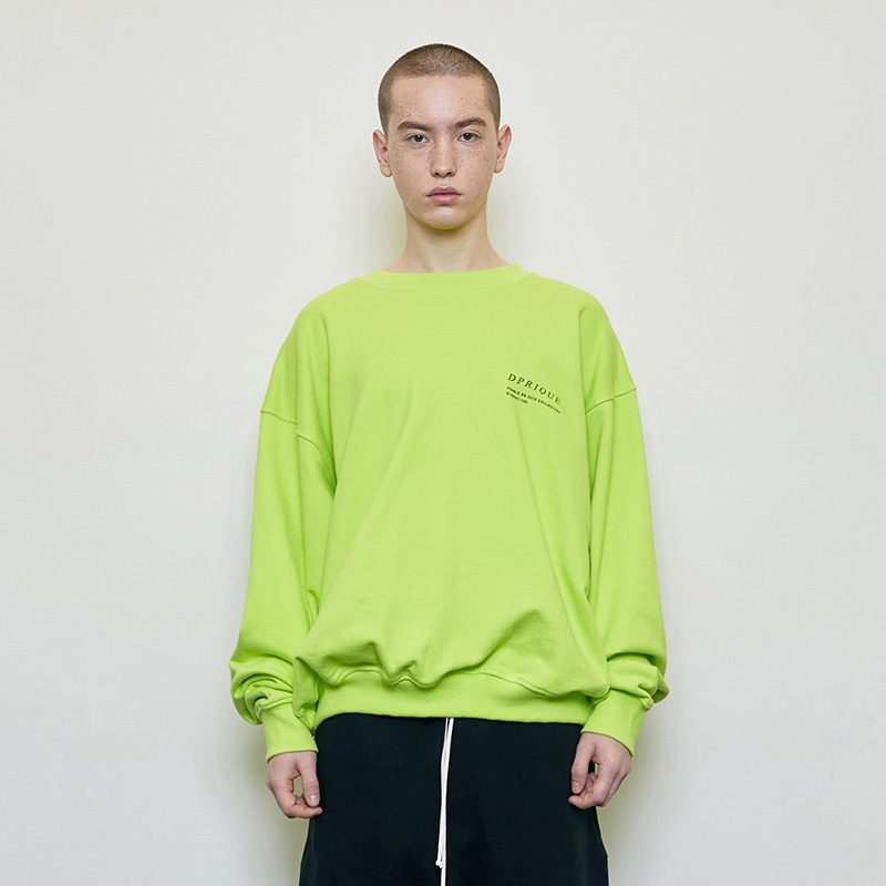 OVERSIZED VISIBLE SWEATSHIRT (NEON)