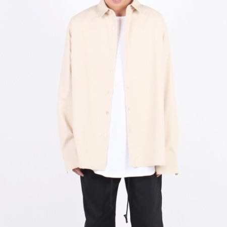 OVERFIT SHIRT CREAM