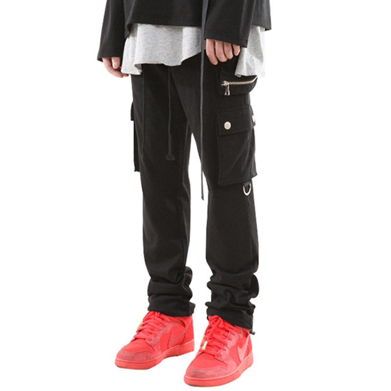 155 UTILITY STRING JOGGER PANTS (BLACK)