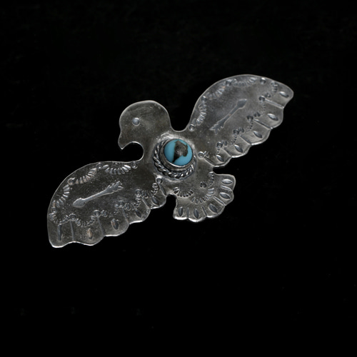 THUNDERBIRLD WITH TQ BROOCH