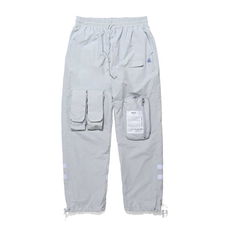 8-POCKET SMOCK PANTS GREY